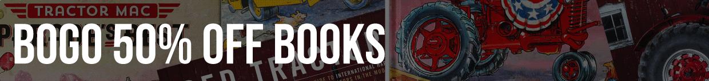 BOGO 50% of c&f books